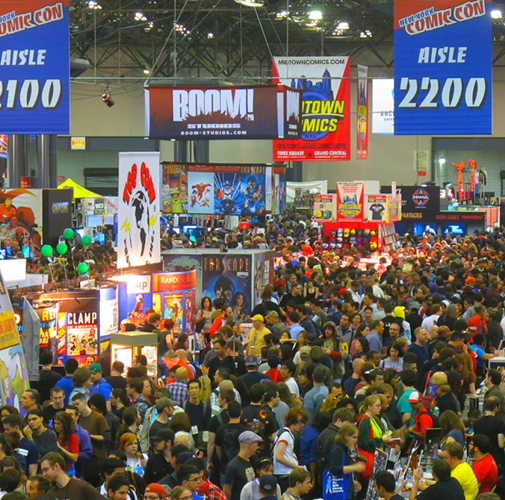 "El ""New York Comic Con"" de Estados Unidos"