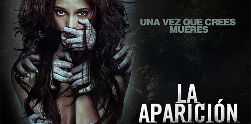 "Ashley Greene aterrada en ""La Aparición"""
