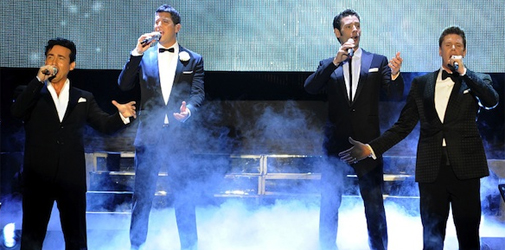 Il Divo y Orquesta en Buenos Aires 2012
