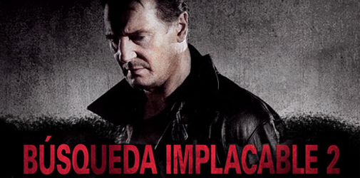 Búsqueda Implacable 2, con Liam Neeson