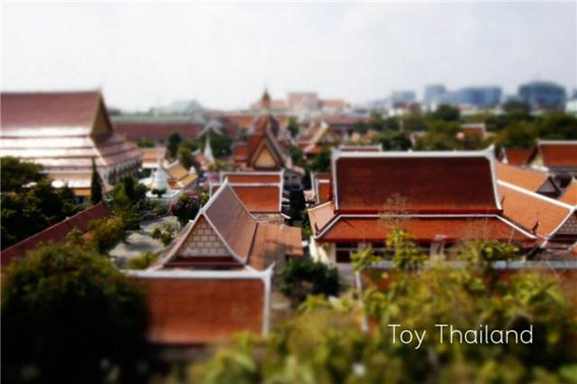 "Video: ""Toy Thailand"" ciudades en miniatura con Tilf-shift"