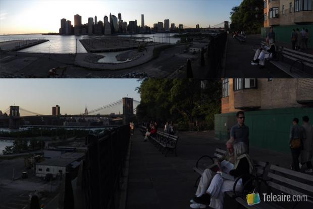 Panorámica de Manhattan desde Brooklyn Heights Promenade