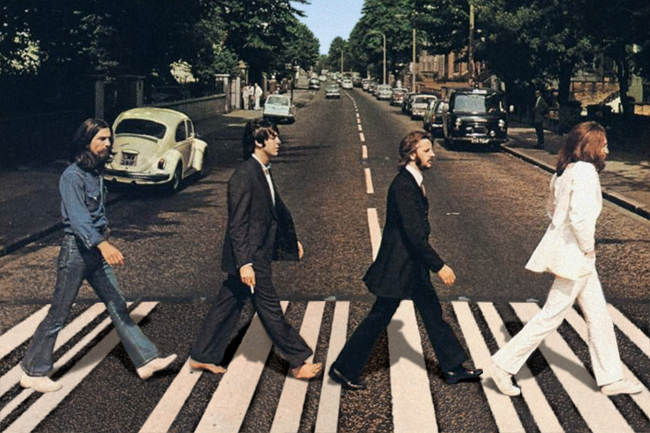 Abbey Road de Los Beatles en Londres