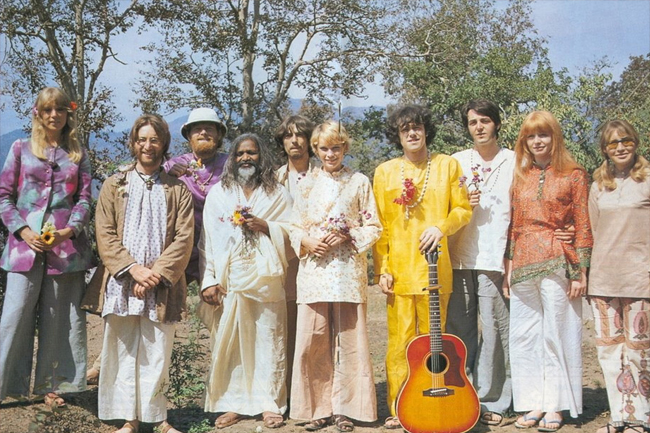 Los Beatles inspirados por la India