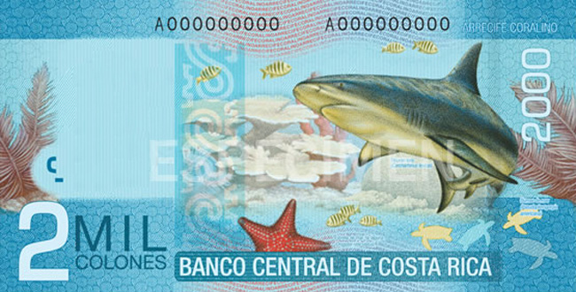 2000 colones costarricenses