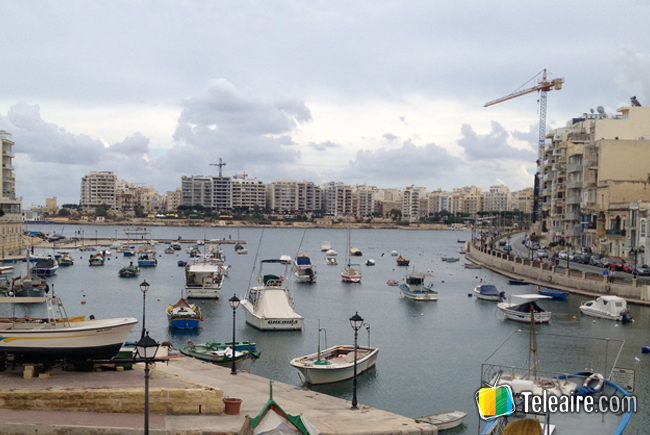 Webcam desde St. Julian, Malta