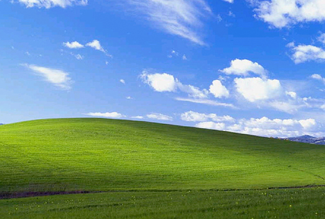 El fondo de Windows es el Valle de Napa