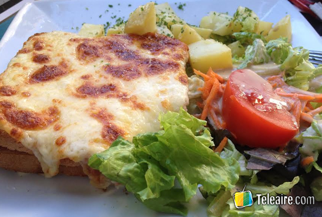 Croque-Monsieur de Francia