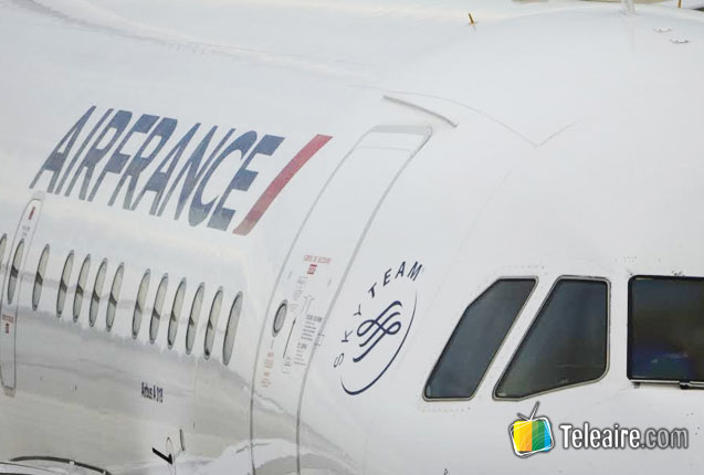 Air France App para reservar vuelos