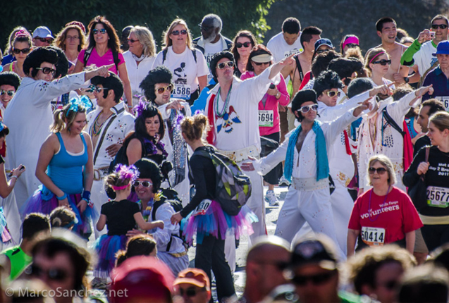 disfraces de Elvis en Bay to breakers