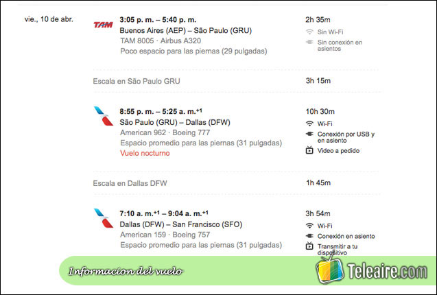 google-flight-informacion-vuelo