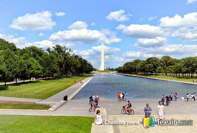 El obelisco de Washington en Forrest Gump