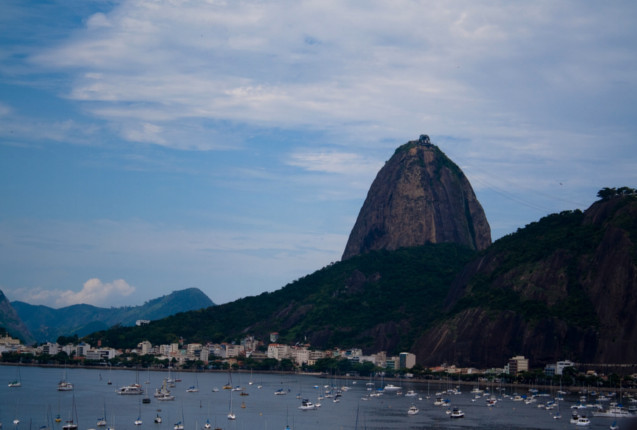 Las costas de Rio de Janeiro
