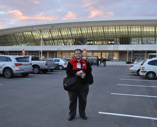 El flamante aeropuerto internacional fue el marco del evento