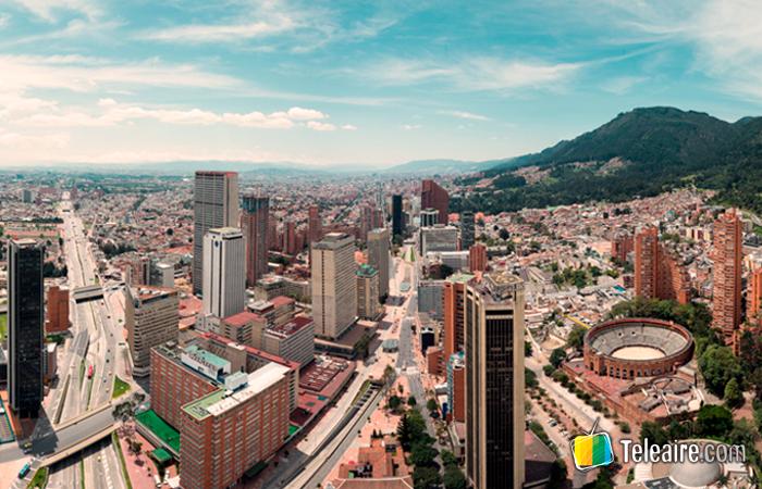 Webcam desde Bogotá, Colombia