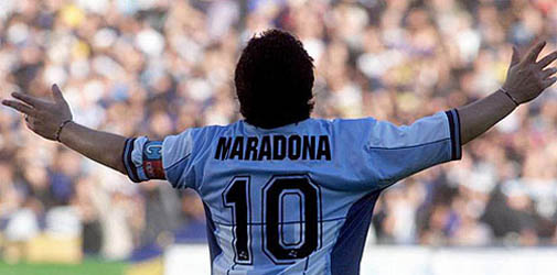 Blackburn testar maradona jr