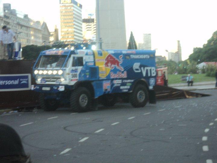 dakar-camion