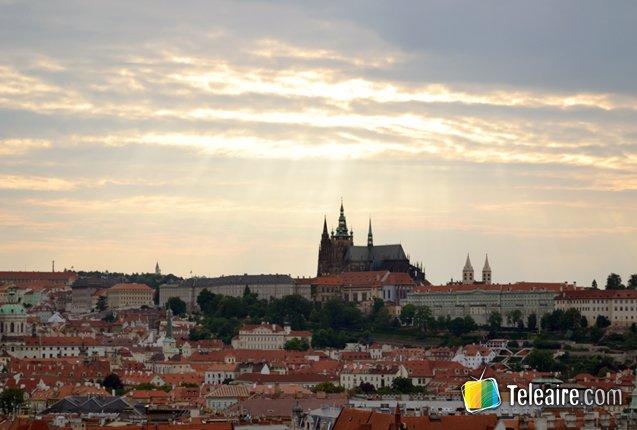 panoramica de la ciudad de praga