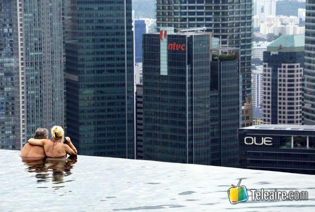Piscina del Hotel Marina Bay Sands