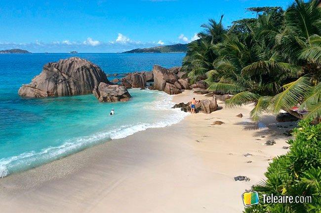 seychelles playas desde arriba