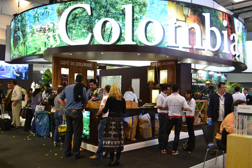 Stand Colombia en IFTM 2012