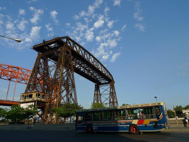 Puente de Hierro - Barrio de La Boca en Buenos Aires