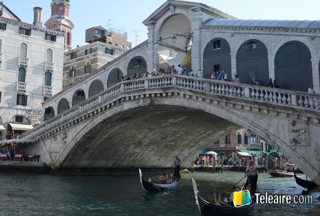 Todo el esplendor del Puente de Rialto