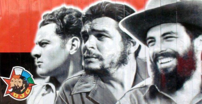 El Che es parte de la arquitectura cubana, presente en todas las paredes de La Habana