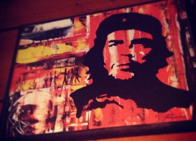 Póster de El Che en Francia