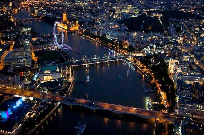 Webcam en Londres desde el Rio Tamesis