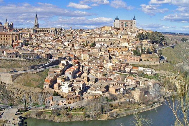 Los amantes pasajeros de Almodovar en Toledo