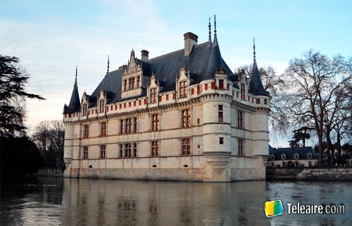 Castillo Azay le Rideau en el Valle del Loira