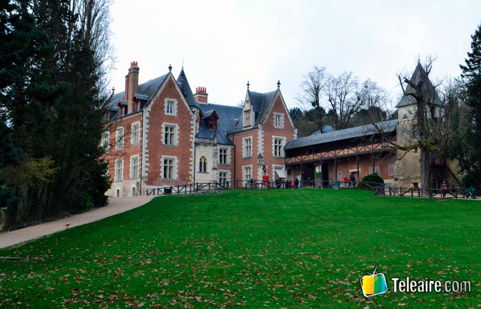 Castillo de Clos Lucé en el Valle del Loira