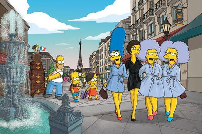 Los Simpsons Recorren El Mundo Teleaire Multimedia