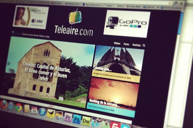 Nueva portada de Teleaire.com