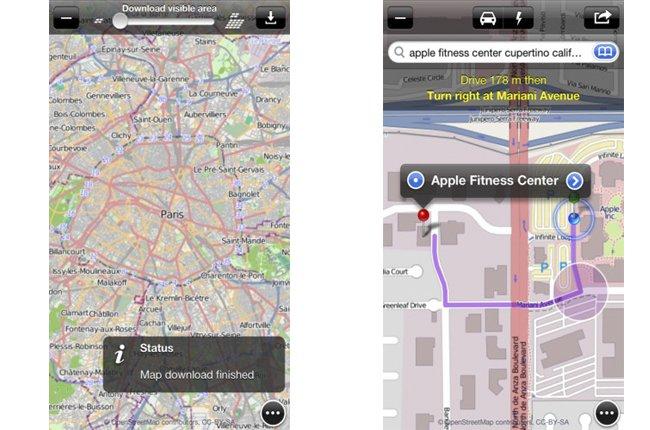 Encuentra tu camino en tu smartphone con OpenMaps