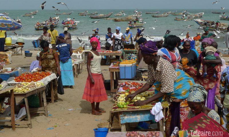 Otra escena del mercado matinal