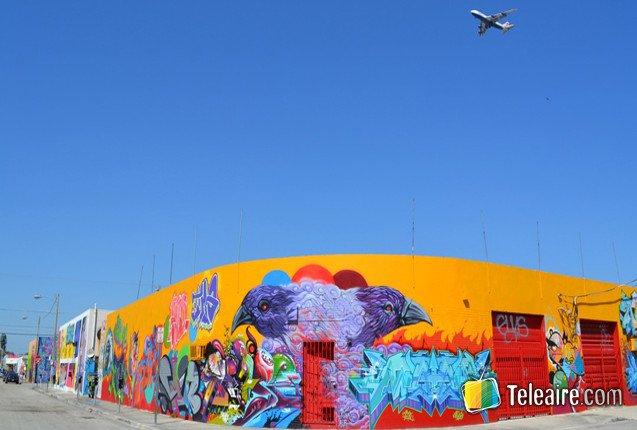 El atractivo de Wynwood es el arte urbano