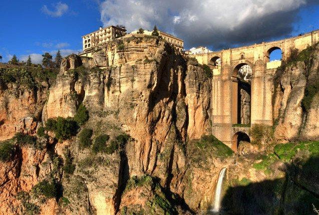 Paisaje del Puente de Ronda