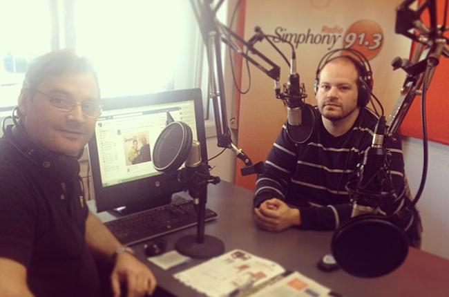 Entrevista en Radio Simphony