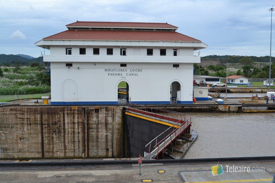 La esclusa Miraflores es el emplazamiento ideal para observar las operaciones en el Canal