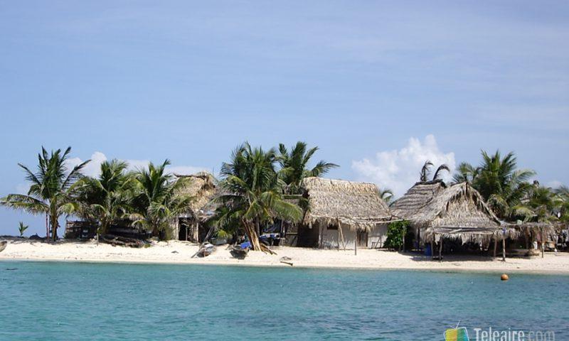 Hay gente que vive todo el año en islotes como este