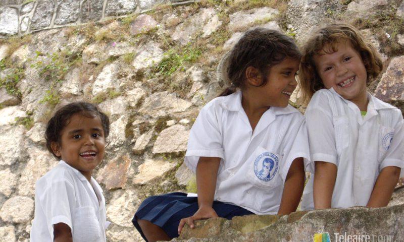 Las sonrisas están muy presentes en Centroamérica