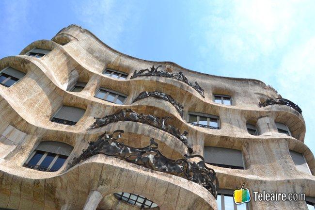 cultura en España: Casa_Mila