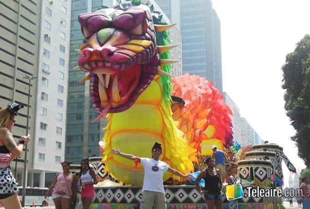 Carnaval de Rio de Janeiro en Brasil