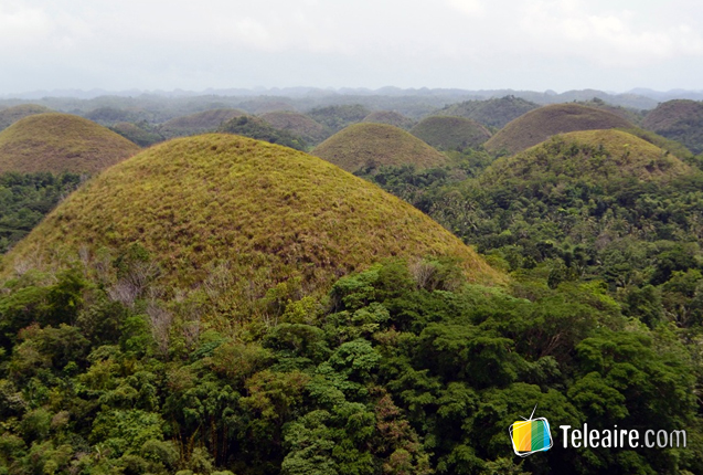panoramica de chocolate hills