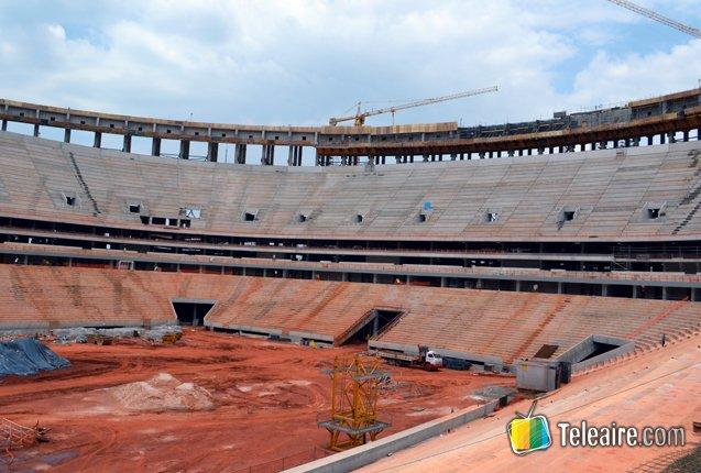 Estadio de Brasilia para el Mundial 2014