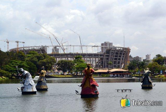 Estadio de Salvador de Bahía para Mundial 2014