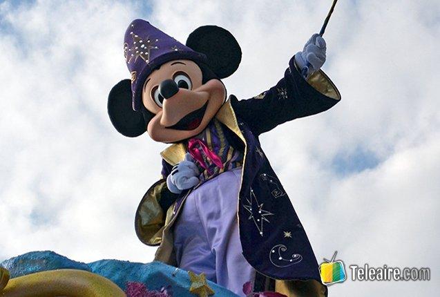 Mickey Mouse en el Parque EuroDisney