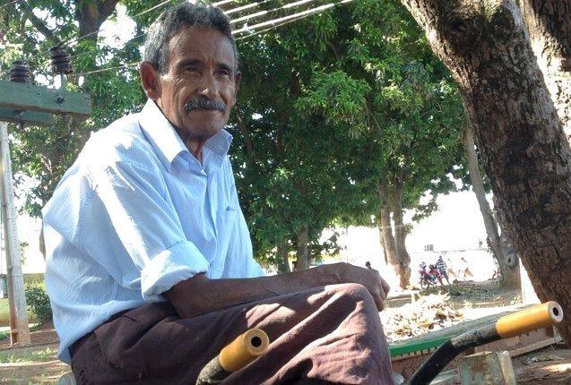 Raimundo Arruba Sobrinho el poeta mendigo